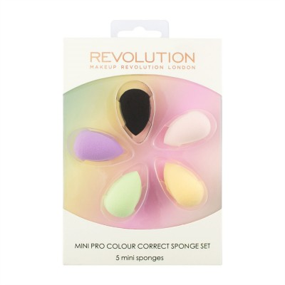 Набор цветных корректириующих спонжей Makeup Revolution Mini Pro Colour Correct Sponge Set: фото