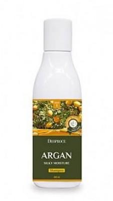 Шампунь с маслом арганы DEOPROCE Shampoo argan silky moisture 200мл: фото