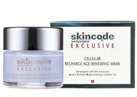 Клеточная обновляющая омолаживающая маска Skincode Exclusive Cellular 50мл: фото
