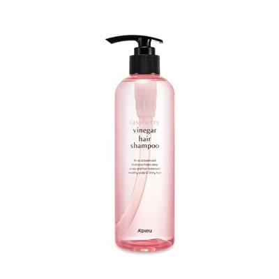 Шампунь с малиновым уксусом A'pieu Raspberry Vinegar Hair Shampoo 550мл: фото