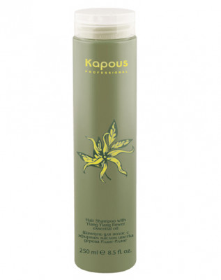 Шампунь для волос с маслом Иланг-Иланг Kapous Ylang Ylang flower essential oil 250мл: фото