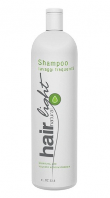 Шампунь для частого использования Hair Company Hair Natural Light Shampoo Lavaggi Frequenti 1000мл: фото
