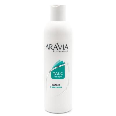 Тальк с ментолом Aravia Professional 300мл: фото