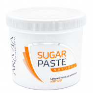 Сахарная паста для депиляции Натуральная, мягкой консистенции Aravia Professional 750г: фото