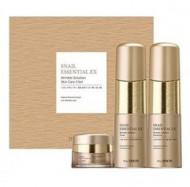 Набор антивозрастной THE SAEM Snail Essential EX Wrinkle Solution Skin Care 2 Set 150мл*150мл*30мл: фото