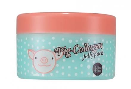 Маска для лица ночная Holika Holika Pig-Collagen jelly pack 80 г: фото
