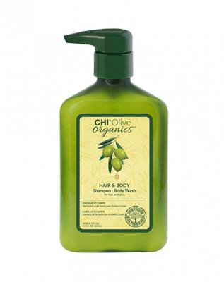 Шампунь для волос и тела CHI OLIVE ORGANICS 340мл: фото