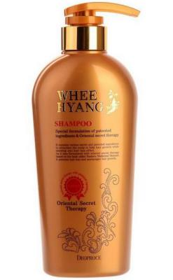 Шампунь с корнем женьшеня DEOPROCE WHEE HYANG SHAMPOO 530мл: фото