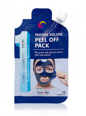 Маска-пленка очищающая Eyenlip POCKET PEPTIDE VOLUME PEEL OFF PACK 25г: фото
