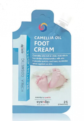 Крем для ног с маслом камелии Eyenlip POCKET CAMELLIA OIL FOOT CREAM 25г: фото