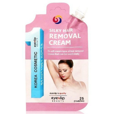 Крем для депиляции Eyenlip SILKY HAIR REMOVAL CREAM 25g: фото