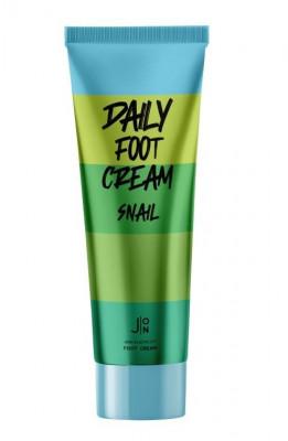 Крем для ног J:ON SNAIL DAILY FOOT CREAM 100 мл: фото