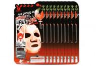 НАБОР Тканевых масок с Красным Женьшенем Elizavecca RED gInseng DEEP PQWER Ringer mask pack 23мл*10шт: фото