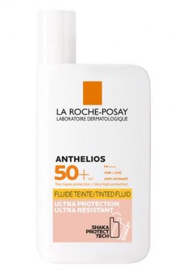 Тонирующий флюид для лица и кожи вокруг глаз La Roche-Posay Anthelios SPF50+ 50мл: фото