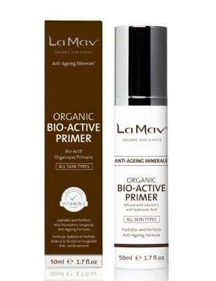 Биоактивный праймер с антиэйдж-эффектом La Mav Certified Organic Bio-Active Primer 50 мл: фото