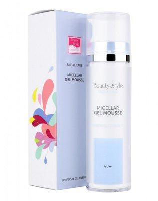 Мицеллярный очищающий гель-мусс для всех типов кожи Beauty Style Cleansing universal 120 мл: фото
