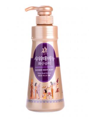 Гель для душа MUKUNGHWA White musk perfume shower body soap 500мл: фото