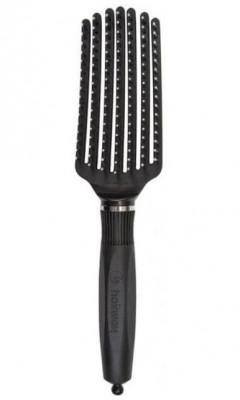 Щетка массажная 7-рядная с нейлоновыми штифтами Hairway Lines Medium: фото
