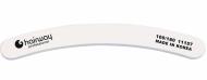 Пилка бумеранг, белая Hairway 100/180: фото