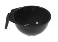 Чаша для краски с ручкой Sibel ERGO черная, 13 см: фото