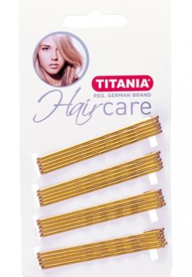 Невидимки прямые Titania 7см светлые 20шт: фото