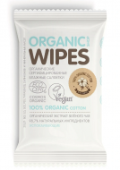 Салфетки влажные успокаивающие Organic Shop Organic Wipes 20шт: фото