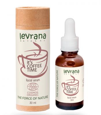 Сыворотка для лица с кофеином Levrana