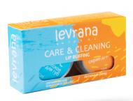 Набор органическое кокосовое масло + янтарный скраб для губ Levrana Care&Cleaning 10мл*2: фото