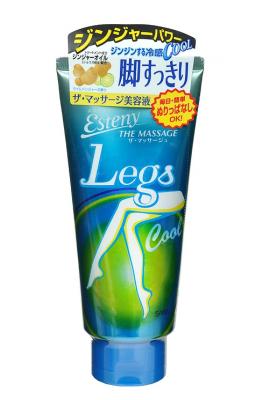 Гель для ног охлаждающий с ароматом лимона Sana Esteny the massage legs cool 180мл: фото