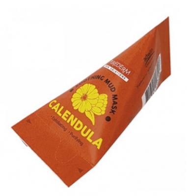 Маска для лица грязевая с календулой Purederm Calendula facial mud mask 20г*12шт: фото