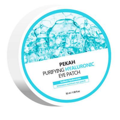 Патчи для глаз омолаживающие с гиалуроновой кислотой Pekah Purifying hyaluronic eye patch 60шт: фото