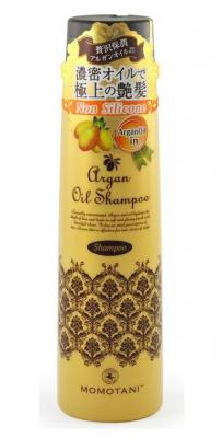 Шампунь для волос с маслом арганы без силикона Momotani Organic argan shampoo 290мл: фото