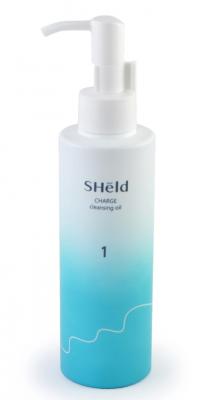 Масло очищающее для снятия макияжа вечерний уход Momotani Sheld charge cleansing oil 180мл: фото