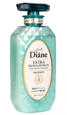 Бальзам-маска кератиновая свежесть Moist Diane Perfect beauty 450мл: фото