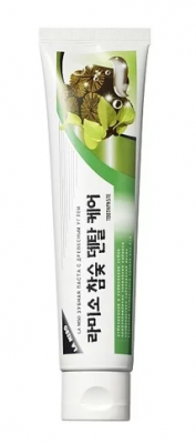Зубная паста отбеливающая с углем La Miso Hardwood charcoal dental care toothpaste 150г: фото