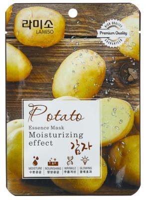 Маска с экстрактом картофеля La Miso Essence Mask premium quality Potato 23г: фото