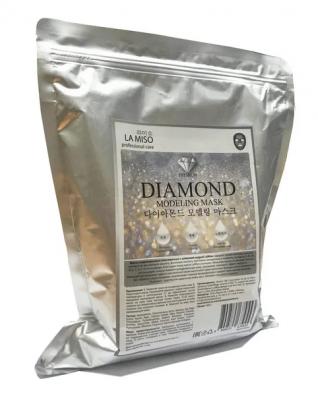 Маска альгинатная с алмазной пудрой La Miso Diamond modeling mask 1000г: фото