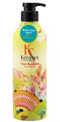 Шампунь парфюмированный Гламур KeraSys Glamor&stylish parfumed 600мл: фото