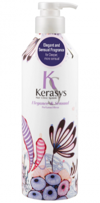 Кондиционер для волос парфюмированный Элеганс KeraSys Elegance&sensual parfumed rinse 400мл: фото