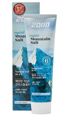 Зубная паста c гималайской солью KeraSys Dental clinic 2080 pure crystal mountain salt 120г: фото
