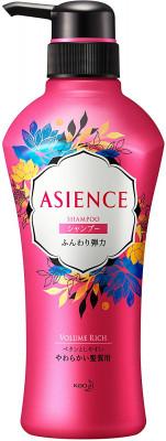 Шампунь для упругости волос KAO Asience soft elasticity type shampoo 450мл: фото