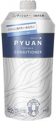 Кондиционер для волос с ароматом лилии и мыла KAO Merit pyuan unique 340мл: фото