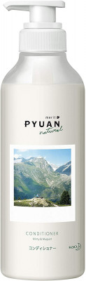 Кондиционер для волос с ароматом мяты и ландыша KAO Merit pyuan minty & muguet 425мл: фото