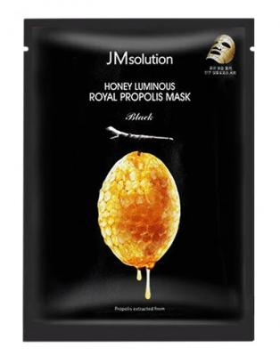 Маска восстанавливающая с прополисом JMsolution Honey luminous royal propolis mask 30мл: фото