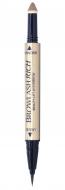 Подводка водостойкая для бровей 2в1 BCL Brow lash rich светло-коричневый 5г: фото
